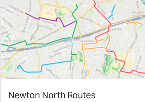 Newton North Routes
